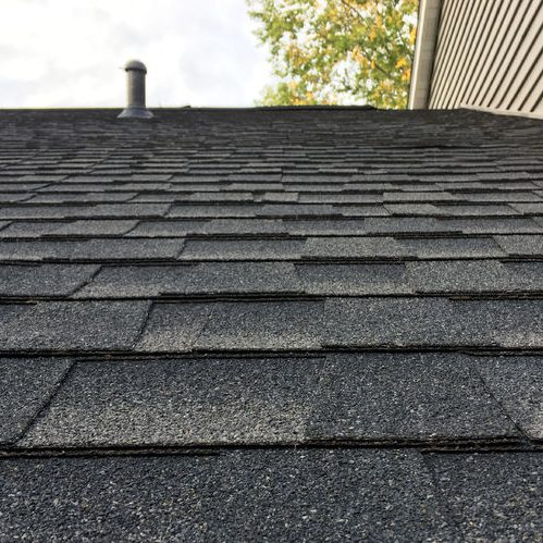 A Picture of Asphalt Shingles On Roof.