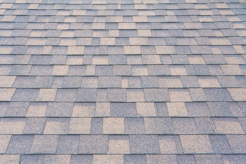 A Picture of Shingles On a Roof.